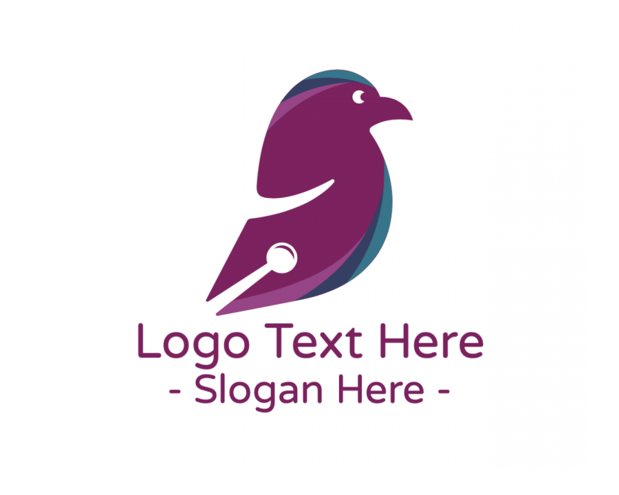 Character Logo design with Fast and Business elements