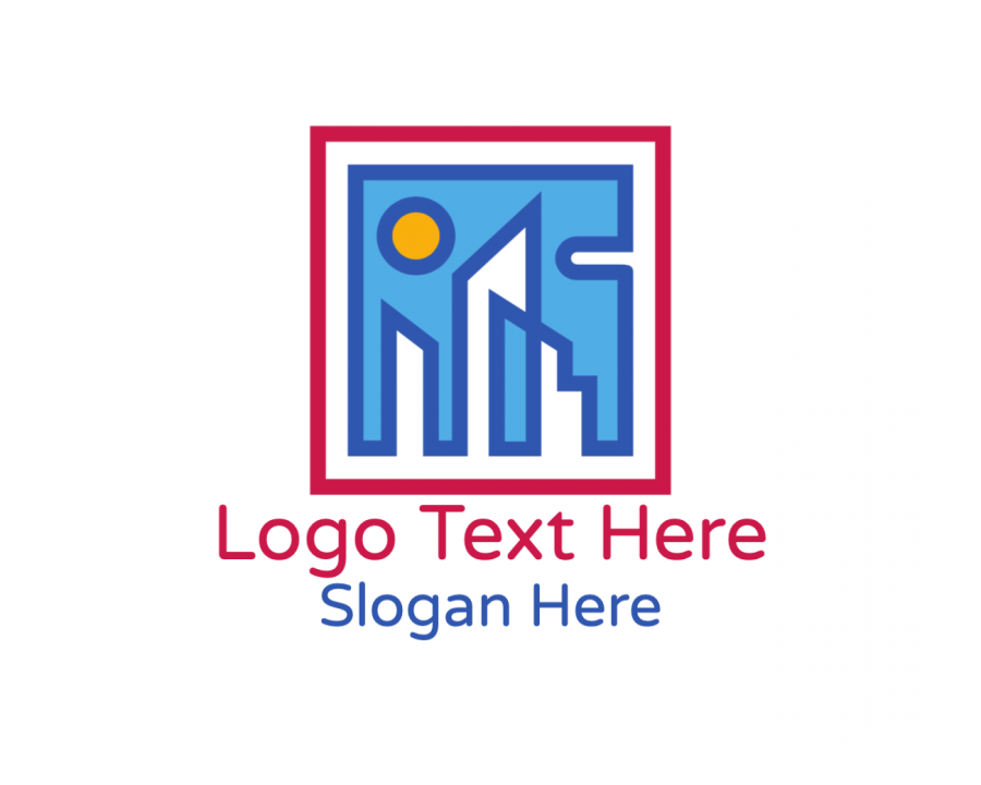 Outline Logotype creator with Builder and Modern elements