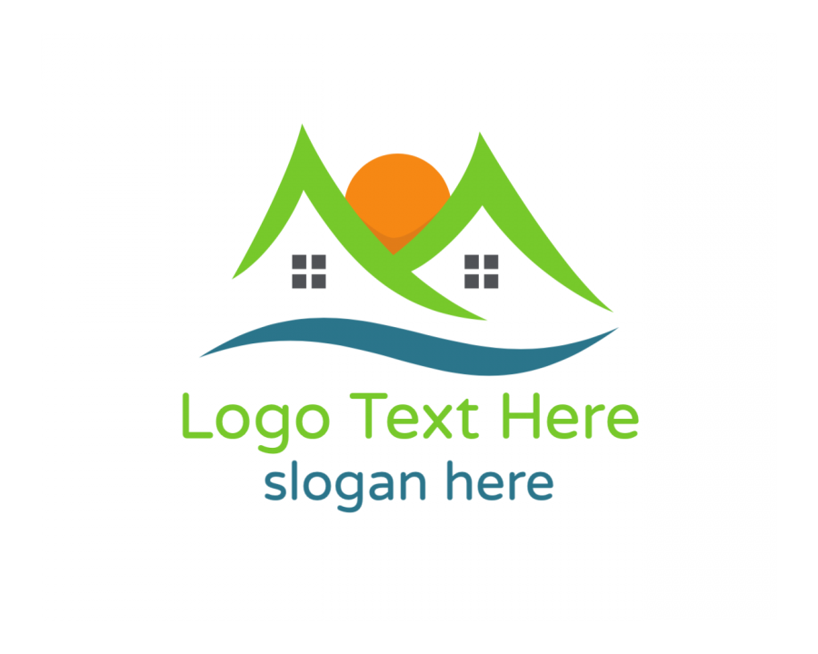 Builder Logo generator online with Property and Abstract elements