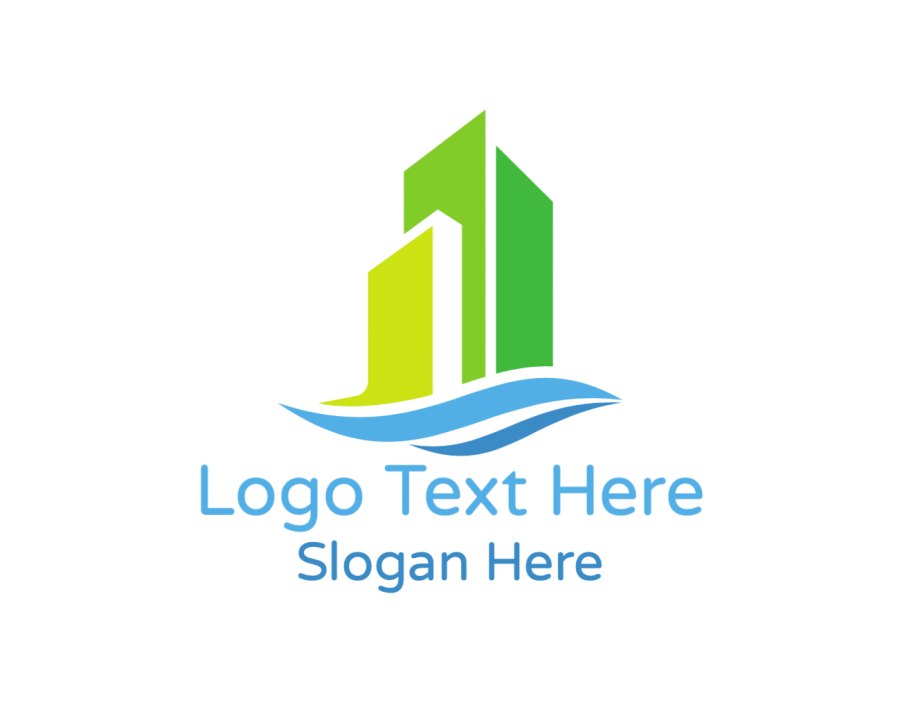 Builder Logo Symbol with Property and Modern elements
