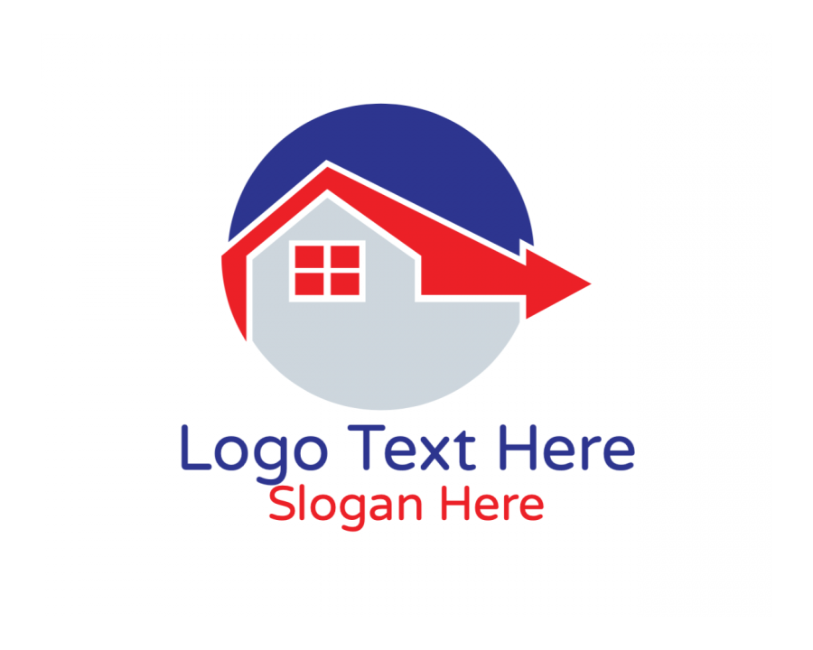 Home Logo design maker with House and Business elements