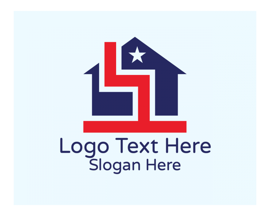 Builder Online Logo Creator with Property and House elements