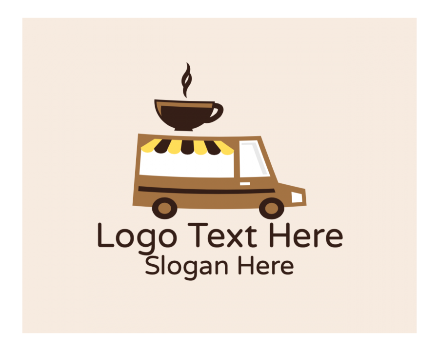 Coffee Shop Online Logo Generator with Coffee and Modern elements