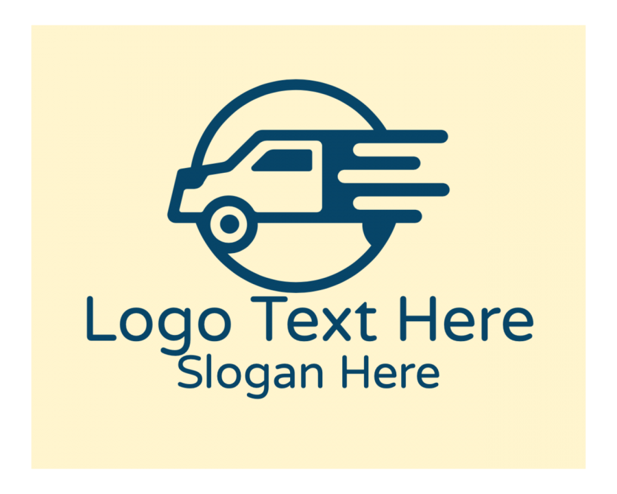 Transportation Online logo generator with Fast and Generic elements