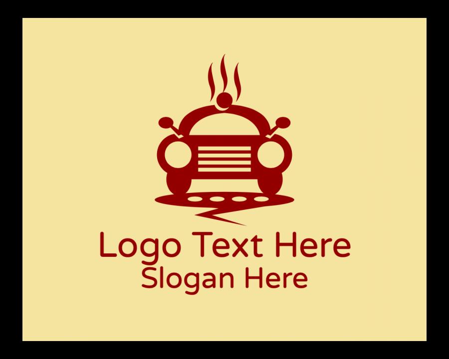 Hot Logo Designer with Transportation and Online elements