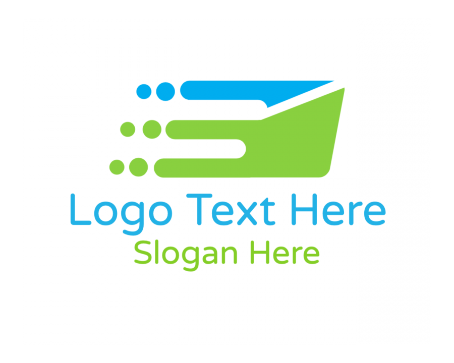 Delivery Logo Generator with Express and Logistics elements
