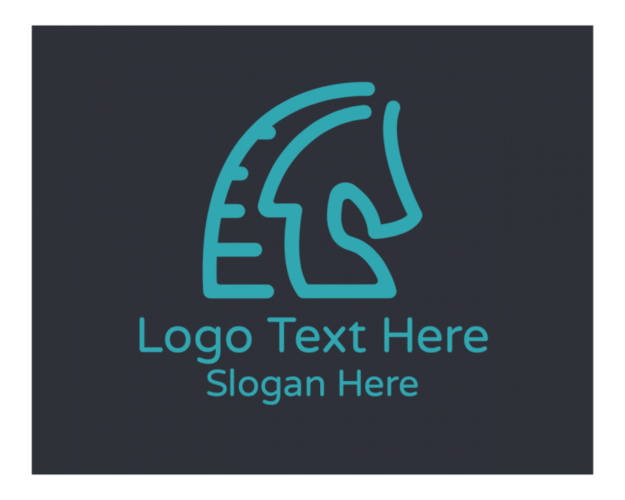 Farm Logo design with Animal and Gaming elements