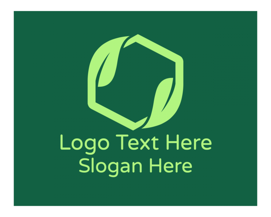 Organic Online logo template with Agriculture and Box elements