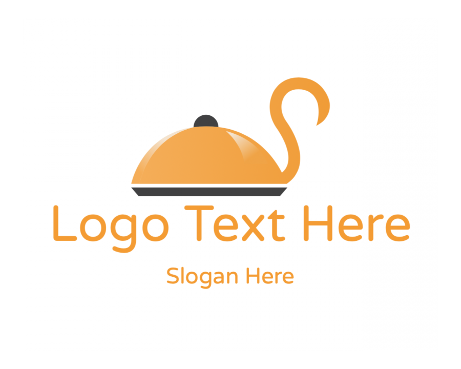 Cater Online logotype maker with Catering and Restaurant elements
