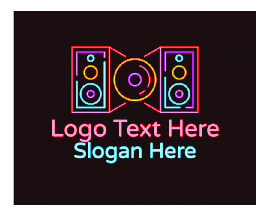 Dj Logo Maker with Audio and Music elements